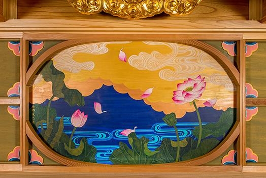 天蓋/蓮華水雲図 2