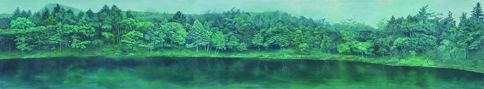 一の池ノ図 原画合成 写真:小嶋三樹