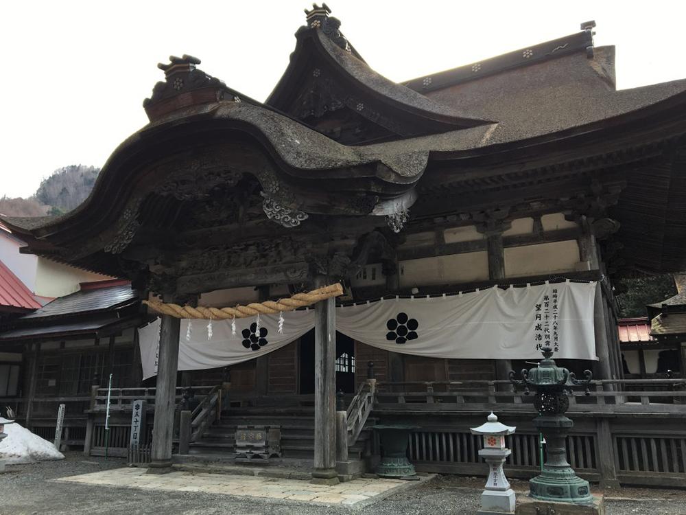 Keishin-in Temple(Minobu town, Yamanashi) keishinin