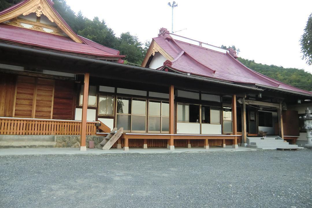 隆運寺(富士川町/山梨県)